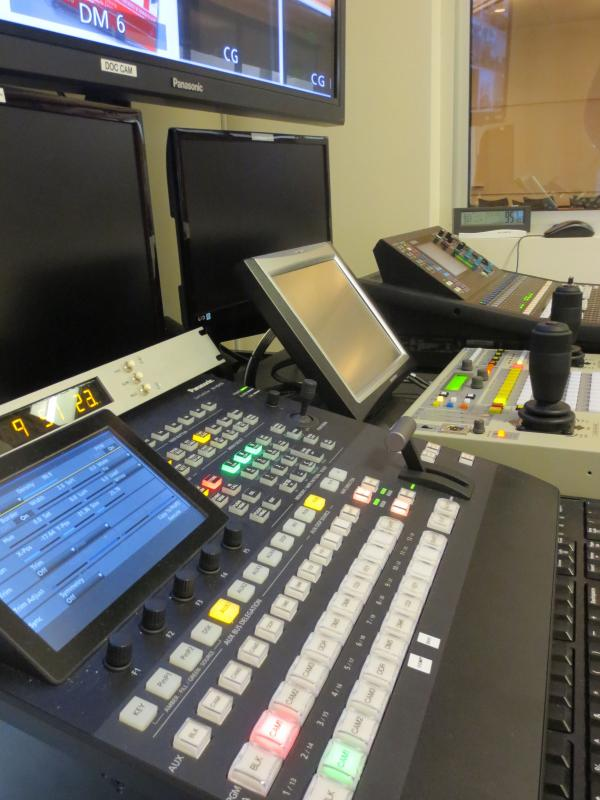 MLC Distance Learning Control Room